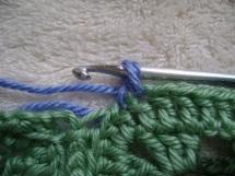 Crab Stitch  2