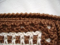 Crab Stitch Edging