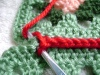 Joining Granny Squares – Part 2 with a Chain Seam & Single Crochet Seam