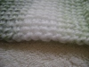 Afghan or Tunisian Crochet – Create a Finished Edge on All Sides As YouWork
