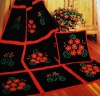 Decorate Your Single or Afghan Crocheted Item with the CrossStitch