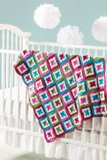 Irish Blossoms Baby Blanket 2015 February