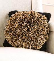 Leopard Chrysanthemum Pillow_Front