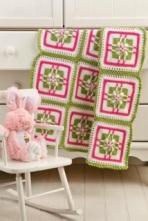Watermelon Parfait Baby Blanket